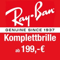 Ray Ban Aktion Komplettbrille